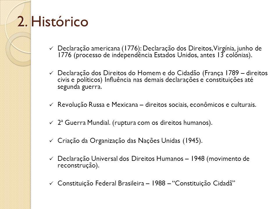 3.Direitos sociais Artigos importantes na Constituição Federal: art.