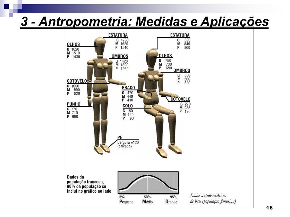 16 3 - Antropometria: Medidas e Aplicações