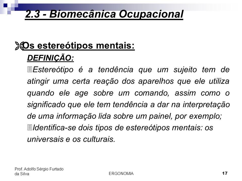 ERGONOMIA 18 Prof.