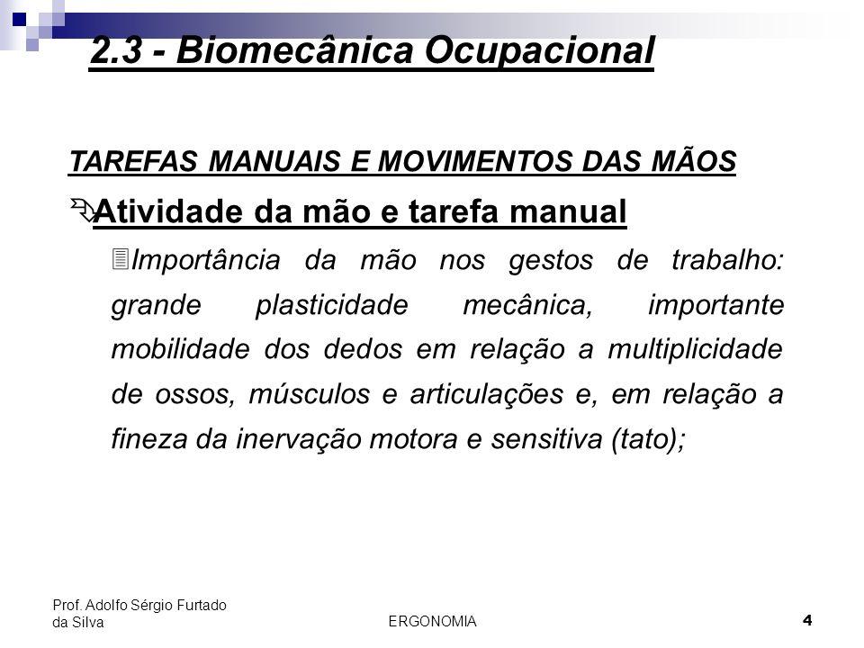 ERGONOMIA 5 Prof.