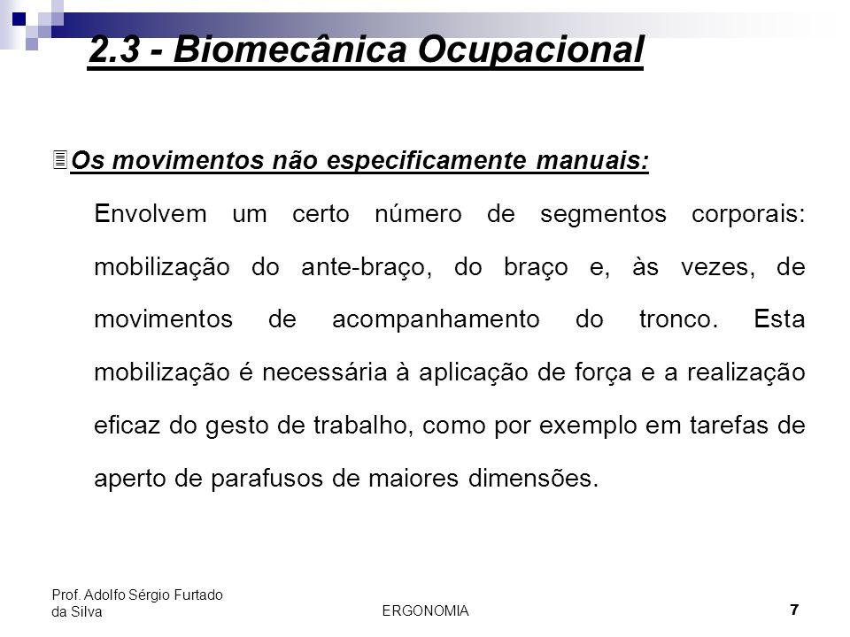 ERGONOMIA 8 Prof.