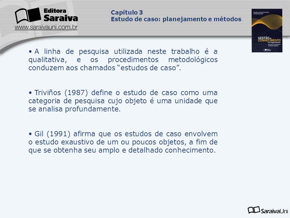 Tipos de estudos de caso: Estudos de caso observacionais; Estudos de caso denominados história de vida; Estudos de caso histórico-organizacionais.