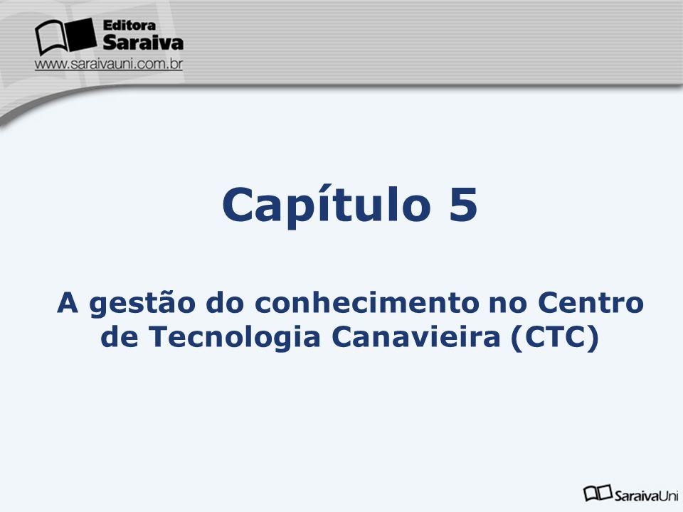 Capítulo 5 A gestão do conhecimento no Centro de Tecnologia Canavieira (CTC)