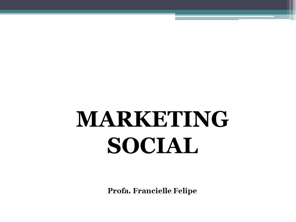 QUAL É A DIFERENÇA? Marketing Comercial X Marketing Social