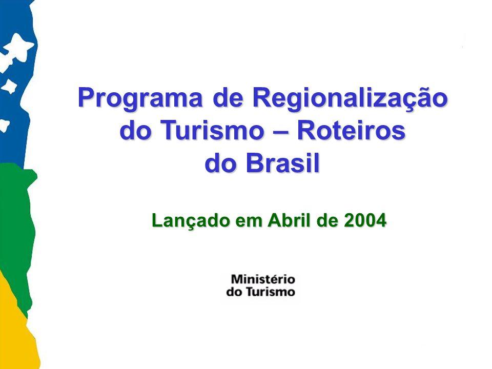 DESENVOLVIMENTO DA ATIVIDADE TURÍSTICA FOCADO NA UNIDADE MUNICIPAL (Municipalização do Turismo) DESENVOLVIMENTO DA ATIVIDADE TURÍSTICA FOCADO NA REGIÃO TURÍSTICA (Programa de Regionalização do Turismo – Roteiros do Brasil) Histórico