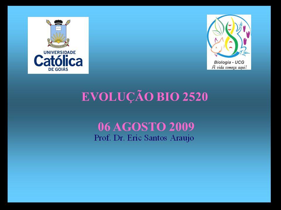 Divisão em 02 continentes EVOLUÇÃO BIO 2520 06 AGOSTO 2009