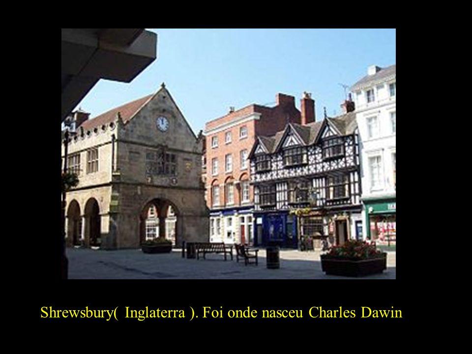 Shrewsbury( Inglaterra ). Foi onde nasceu Charles Dawin