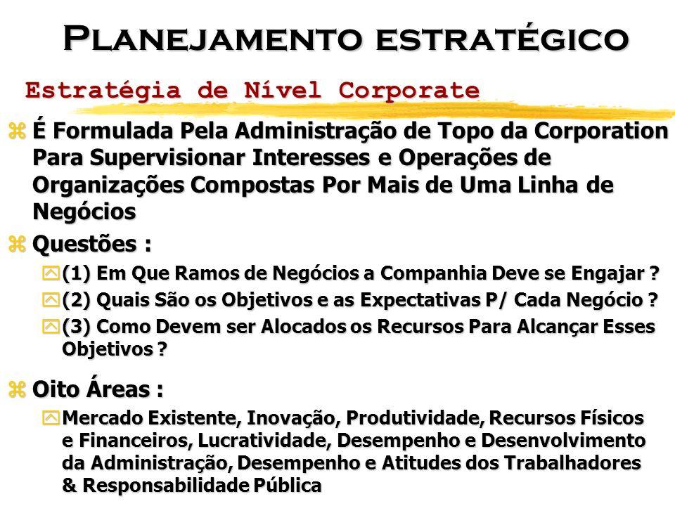 Estratégia de Nível Corporate zÉ Formulada Pela Administração de Topo da Corporation Para Supervisionar Interesses e Operações de Organizações Compost