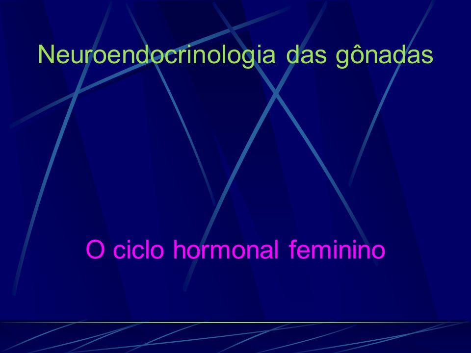O ciclo hormonal feminino Neuroendocrinologia das gônadas