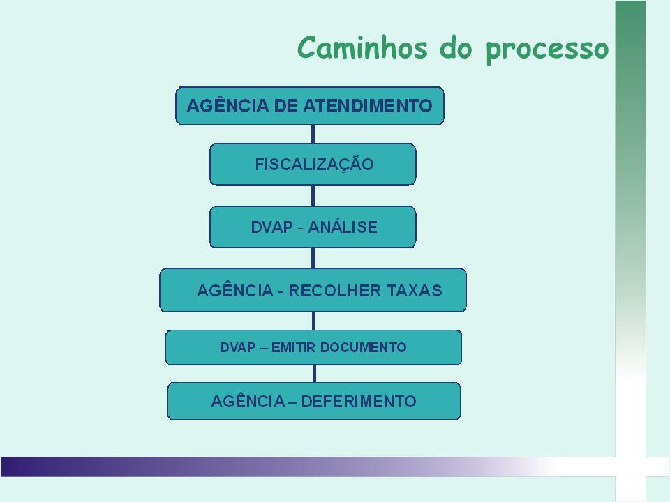 Caminhos do processo