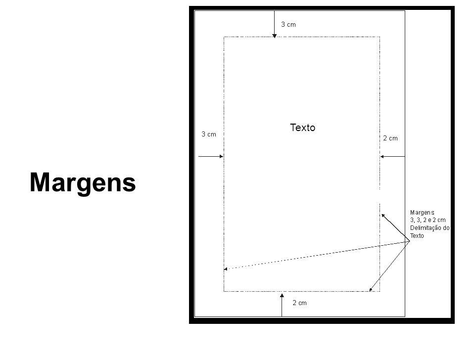 Margens Texto