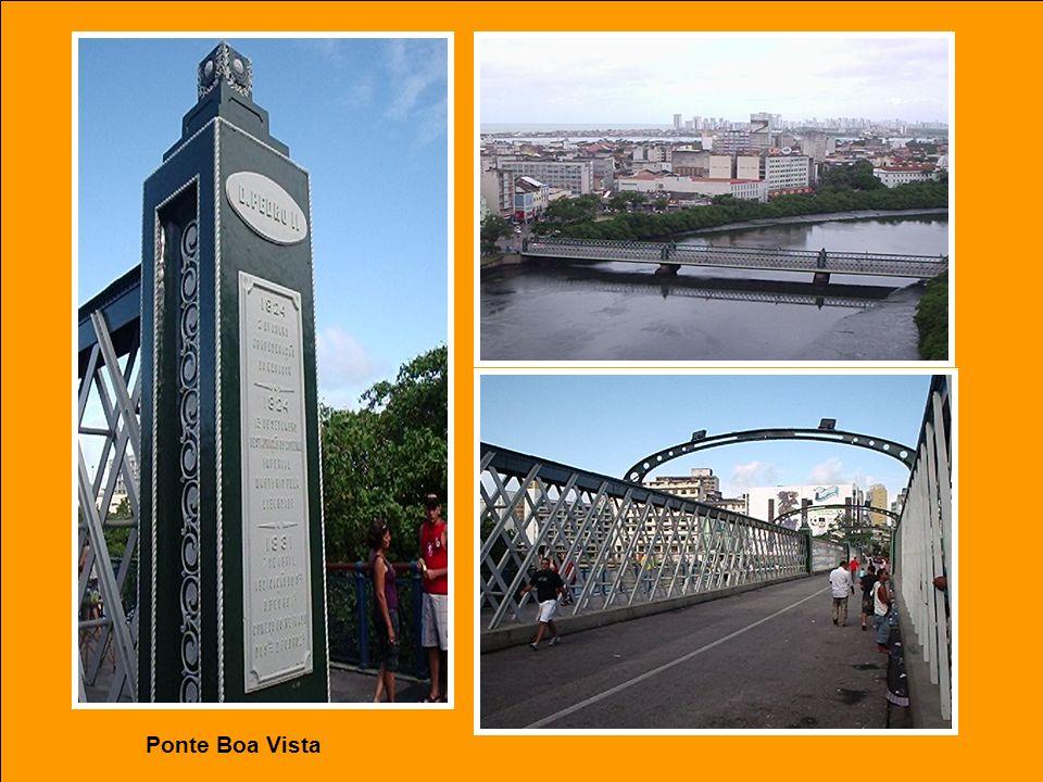 Ponte Princesa Isabel sobre o Rio Capibaribe