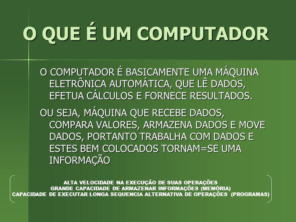 INSTRUÇÃO É UM COMANDO (ORDEM) PARA QUE O COMPUTADOR REALIZE UMA AÇÃO ESPECÍFICA