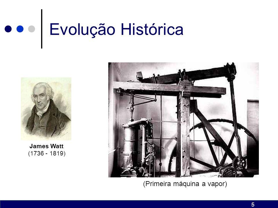 6 Evolução Histórica O artesão que até então trabalham em suas oficinas, começam a se agrupar e surgem assim as primeiras fábricas.