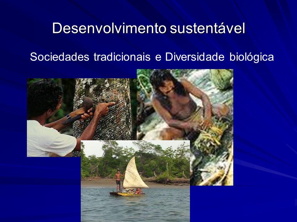 Sociedades tradicionais e Diversidade biológica