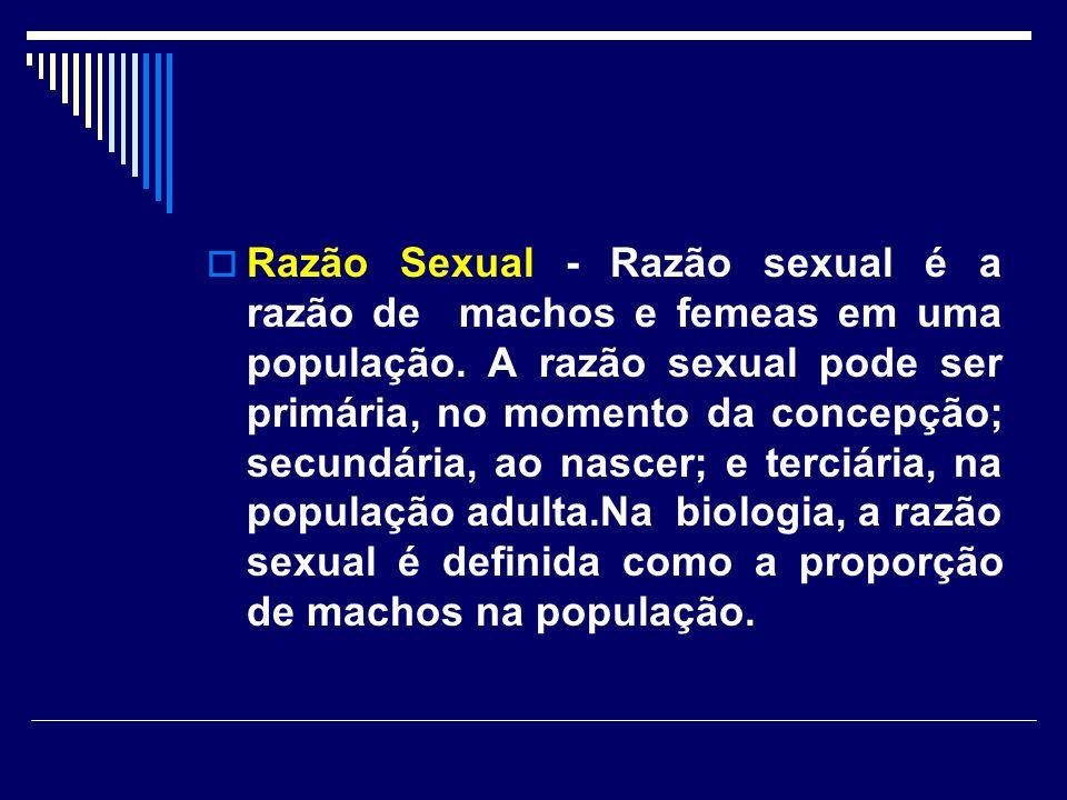 O princípio de Fisher explica porque na maioria das espécies a razão sexual é aproximadamente 1:1