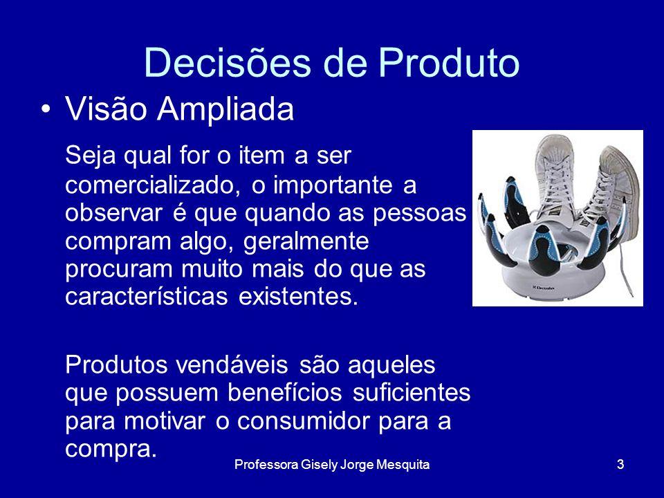 Componentes de um produto: Marcas – é um importante fator de diferenciação.