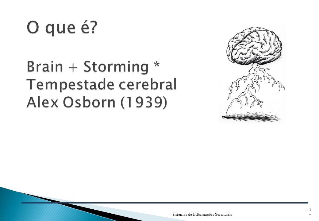 Sistemas de Informações Gerenciais – 1 –