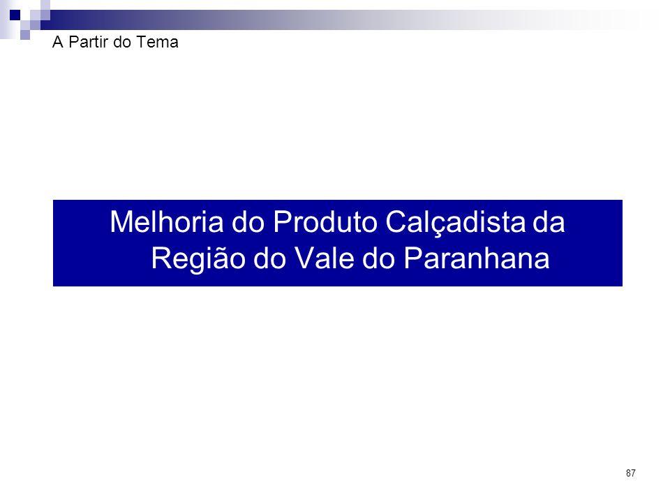 87 A Partir do Tema Melhoria do Produto Calçadista da Região do Vale do Paranhana