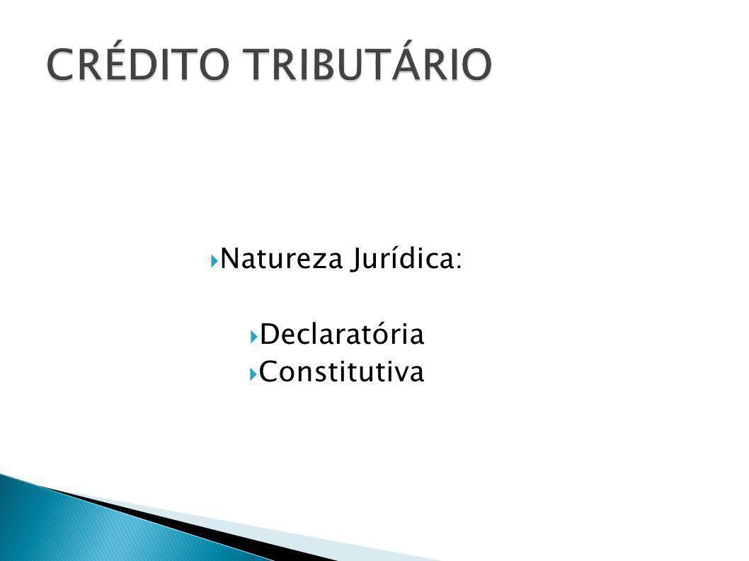 DA SUSPENSÃO DA EXIGIBILIDADE DO CRÉDITO TRIBUTÁRIO