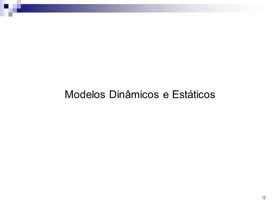 12 Modelos Dinâmicos e Estáticos