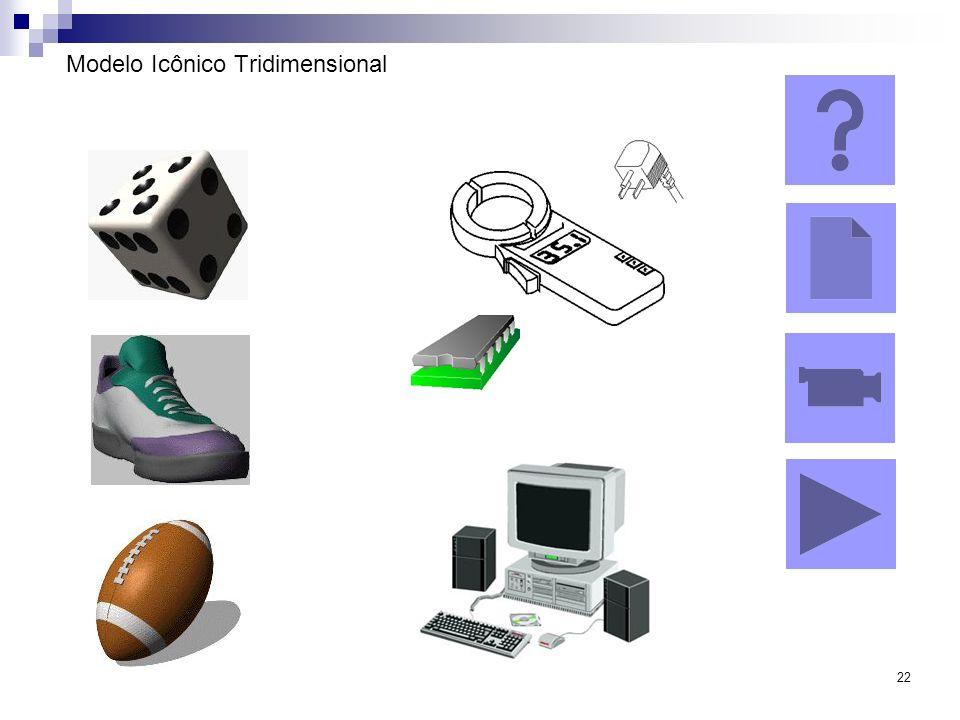 22 Modelo Icônico Tridimensional
