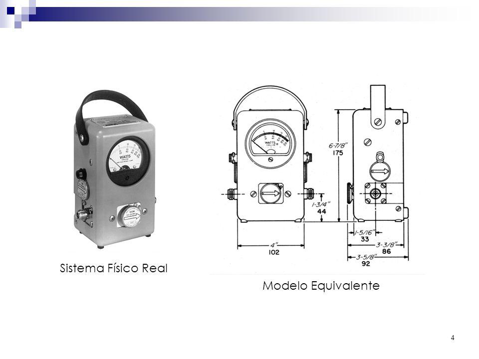 4 Modelo Equivalente Sistema Físico Real
