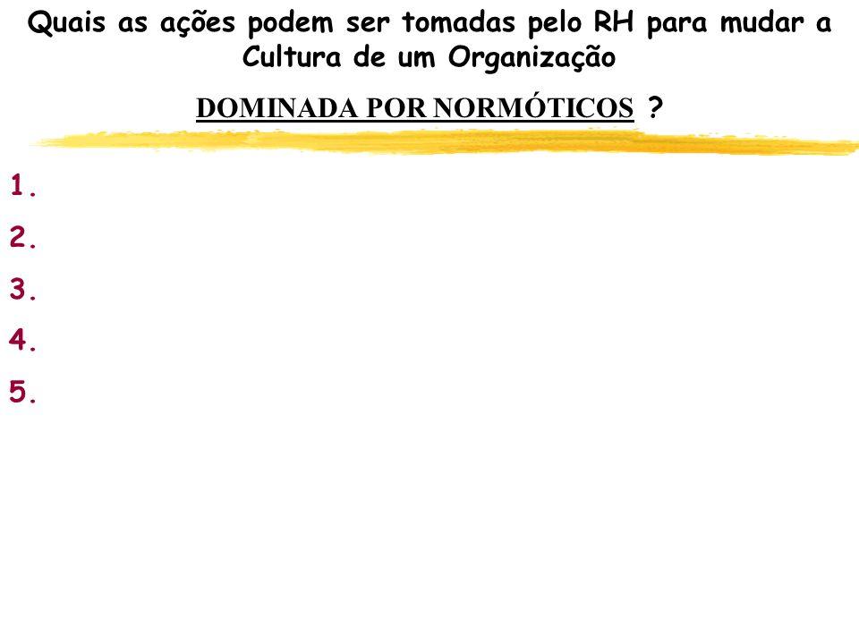 CULTURA ORGANIZACIONAL - CARACTERÍSTICAS DE COMPORTAMENTO DAS ORGANIZAÇÕES