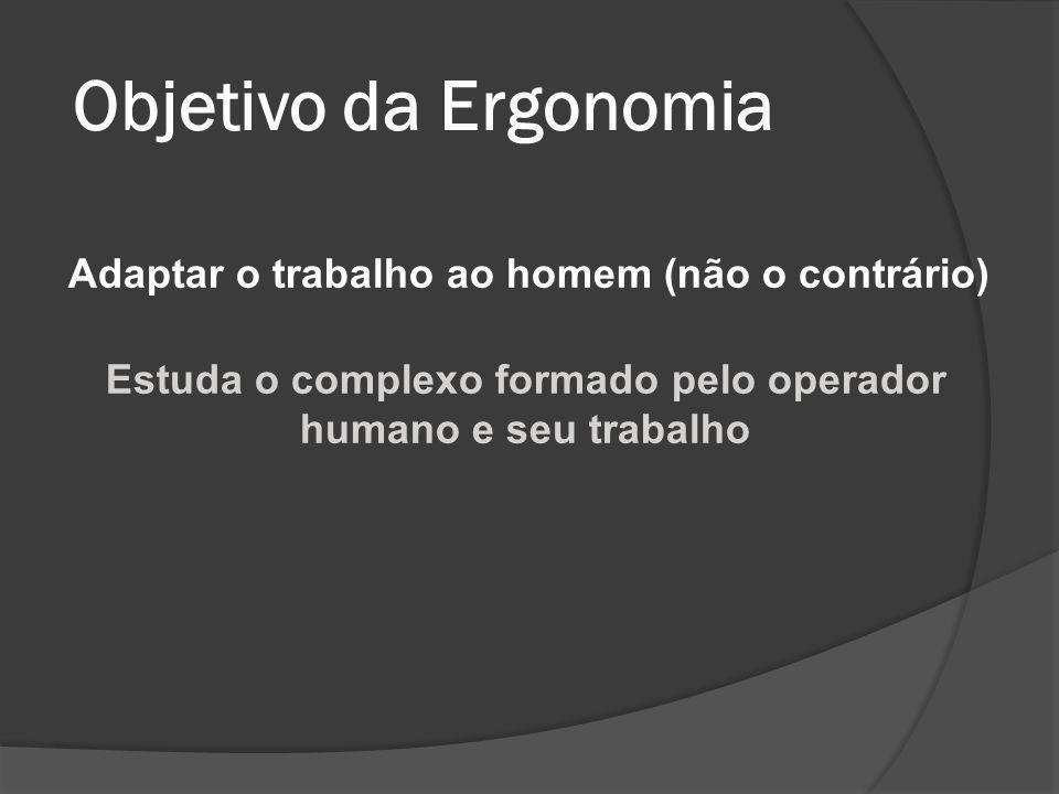 Origem e evolução da ergonomia O termo ergonomia foi utilizado pela primeira vez, em 1857, pelo polonês W.