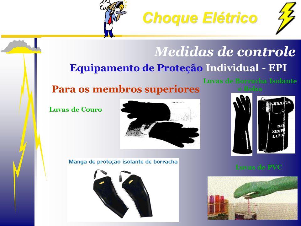 Choque Elétrico Para os membros superiores Luvas de Couro Luvas de Borracha Isolante e Bolsa Luvas de PVC Medidas de controle Equipamento de Proteção