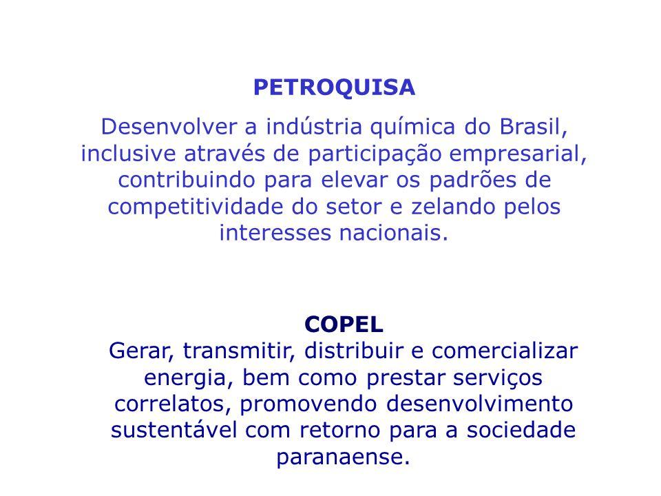 PLANEJAMENTO ESTRATÉGICO PARTICIPATIVO NAS ORGANIZAÇÕES Outros exemplos: CENTRO DE PESQUISA DE ENERGIA ELÉTRICA – CEPEL Contribuir para o permanente a