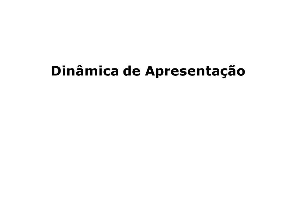 PLANEJAMENTO ESTRATÉGICO PARTICIPATIVO NAS ORGANIZAÇÕES Dinâmica de Apresentação