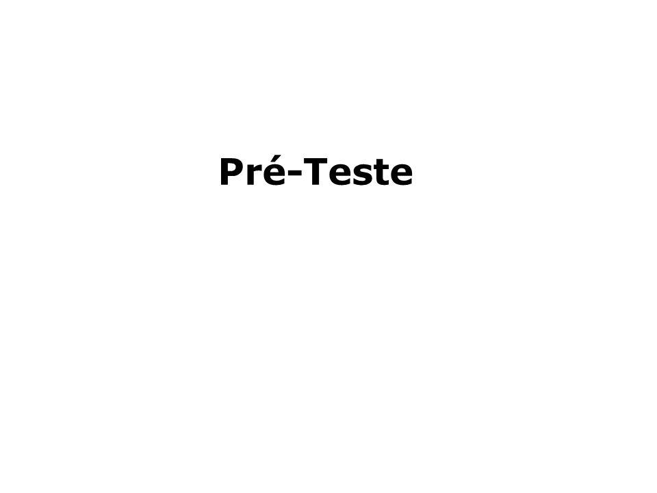 Pré-Teste