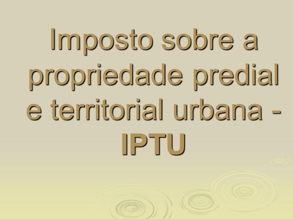 Breves Considerações: Breves Considerações: A tributação sobre imóveis no Brasil teve suas origens na Décima Urbana, em 1799.