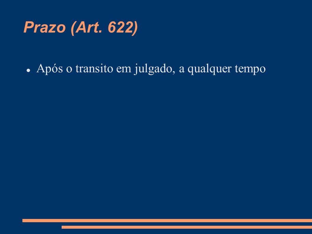 Cabimento (Art.