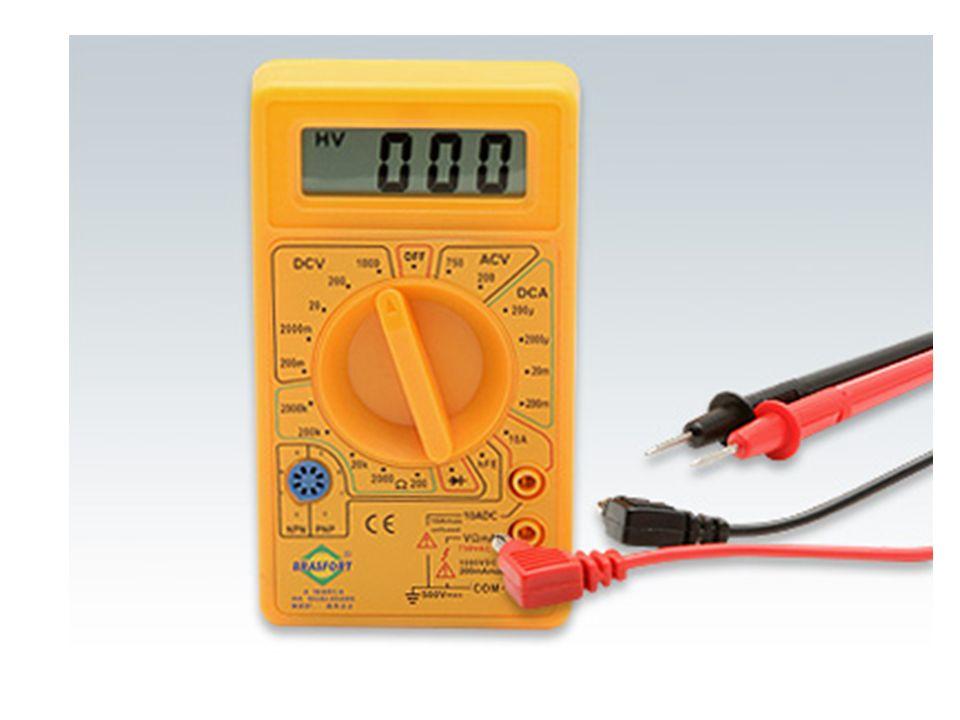 Como utilizar um multímetro digital O valor da escala já indica o máximo valor a ser medido por ela, independente da grandeza.