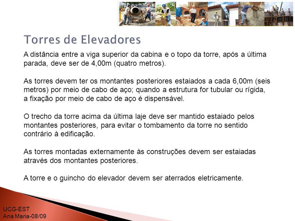 Em todos os acessos de entrada à torre do elevador deve ser instalada uma barreira que tenha, no mínimo 1,80m ( um metro e oitenta centímetros) de altura, impedindo que pessoas exponham alguma parte de seu corpo no interior da mesma.