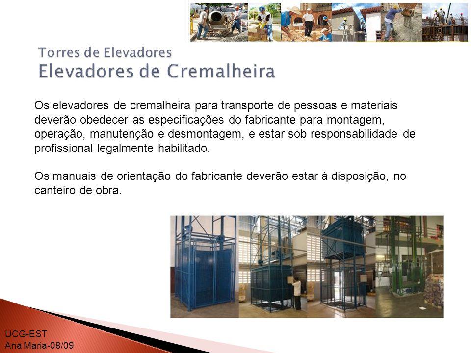 O dimensionamento dos andaimes, sua estrutura de sustentação e fixação, deve ser realizado por profissional legalmente habilitado.