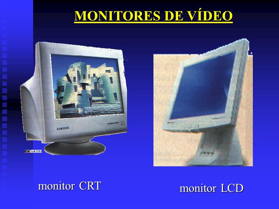 MONITORES DE VÍDEO monitor CRT monitor LCD
