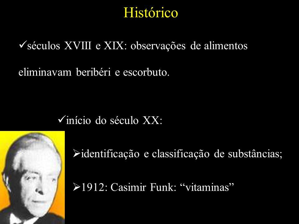 HIDROSSOLÚVEIS CLASSIFICAÇÃO LIPOSSOLÚVEIS