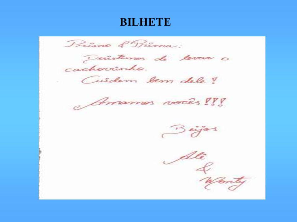 BILHETE
