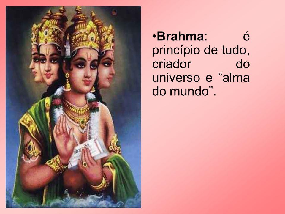 Divindades: 1.Brhama 2.Vishnu 1.Shiva