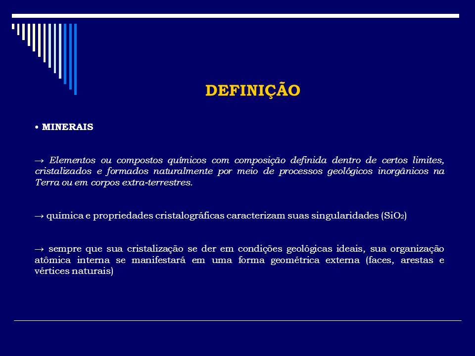 IDENTIFICAÇÃO DOS MINERAIS 4.