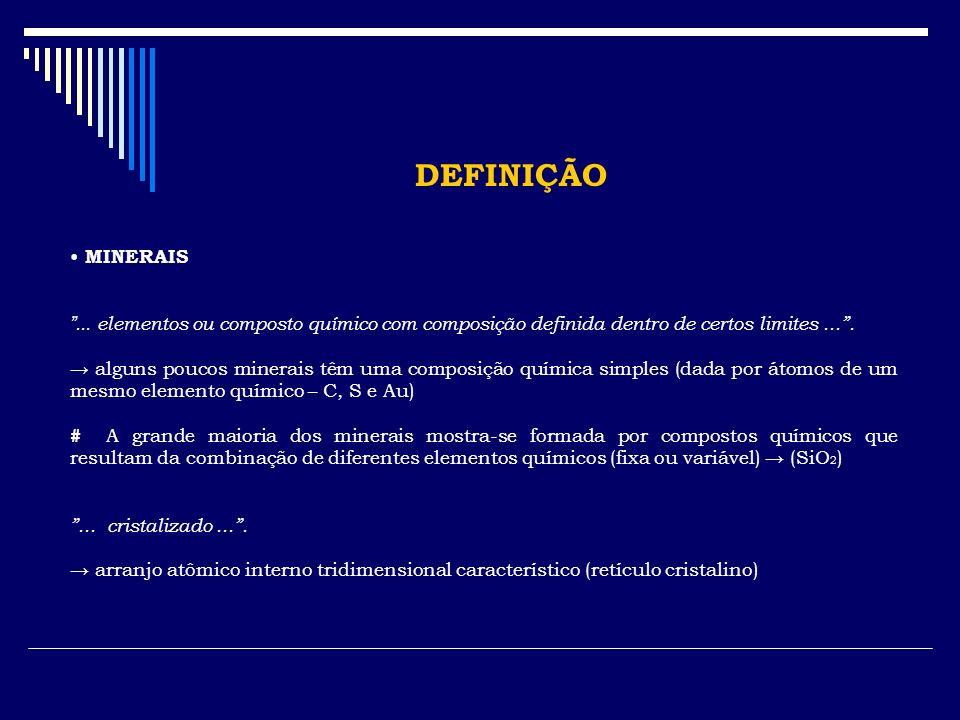 IDENTIFICAÇÃO DOS MINERAIS 6.