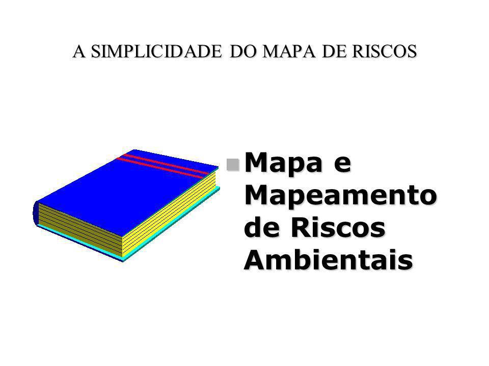 A SIMPLICIDADE DO MAPA DE RISCOS Mapa e Mapeamento de Riscos Ambientais Mapa e Mapeamento de Riscos Ambientais