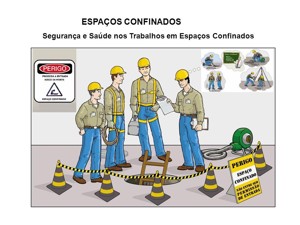 ESPAÇOS CONFINADOS Segurança e Saúde nos Trabalhos em Espaços Confinados