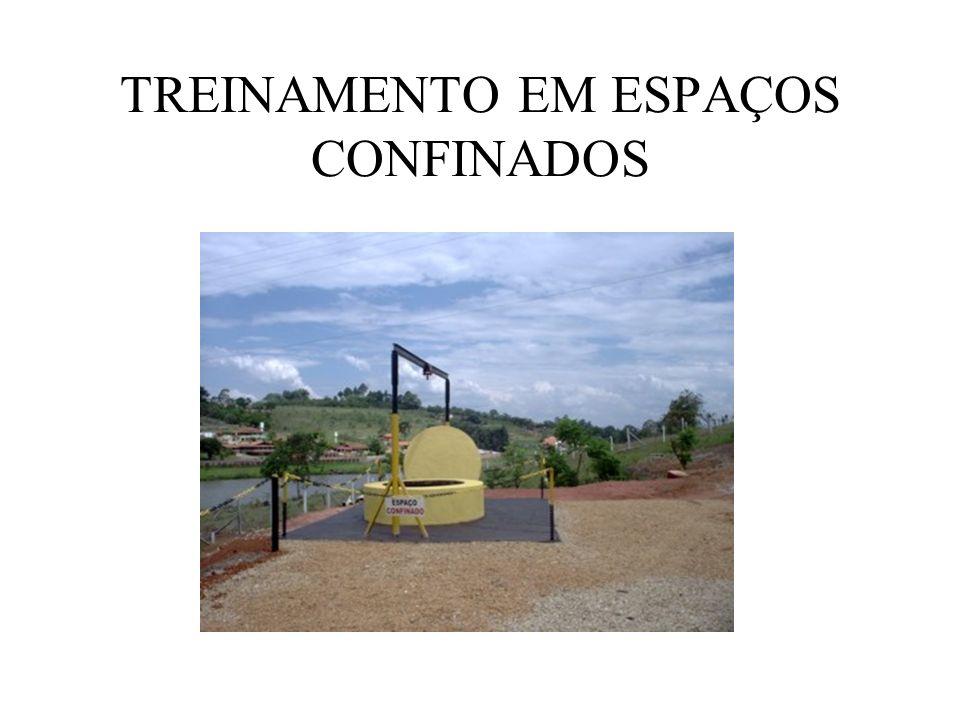 TREINAMENTO EM ESPAÇOS CONFINADOS