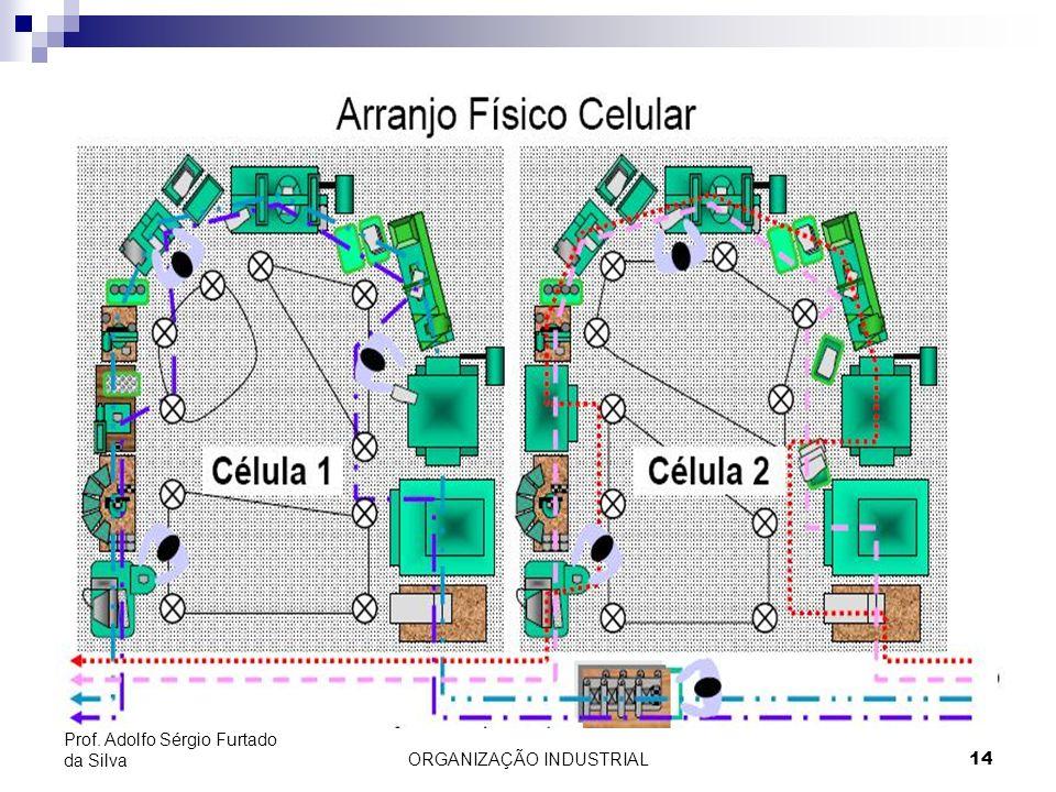 ORGANIZAÇÃO INDUSTRIAL14 Prof. Adolfo Sérgio Furtado da Silva