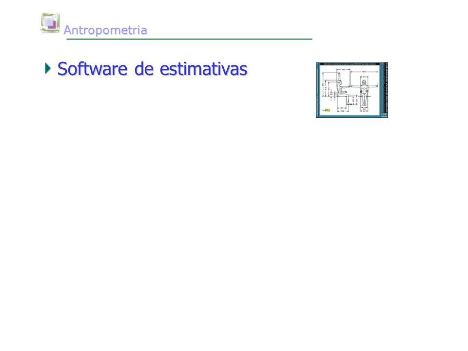 Antropometria Antropometria Software de estimativas