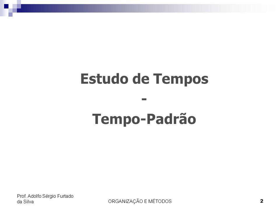 ORGANIZAÇÃO E MÉTODOS 3 Prof.